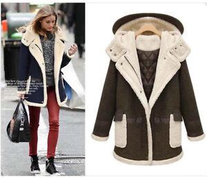 reputable site e3bf8 5e9c1 Dettagli su Giacca donna giaccone cappotto caldo cappottino comodo blu  verde corto 1267