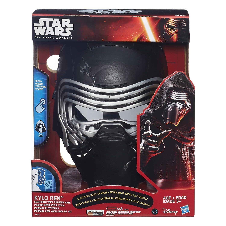Star Wars The Force Awakens Kylo Ren Elektronisch Voice Changer Maske, Neu    | Verwendet in der Haltbarkeit
