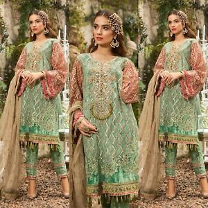 Pakistani-Maria-B-Designer-Suit-Wedding-Dress-Collection-shalwar-Kameez-Embroidr