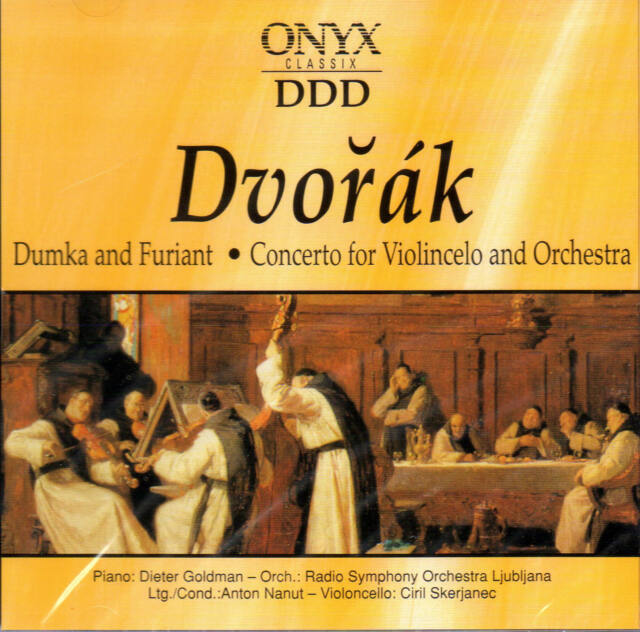 Dvořák -Dumka and Furiant -Concerto for Violincelo and Orchestra  Dvorak CD NEU
