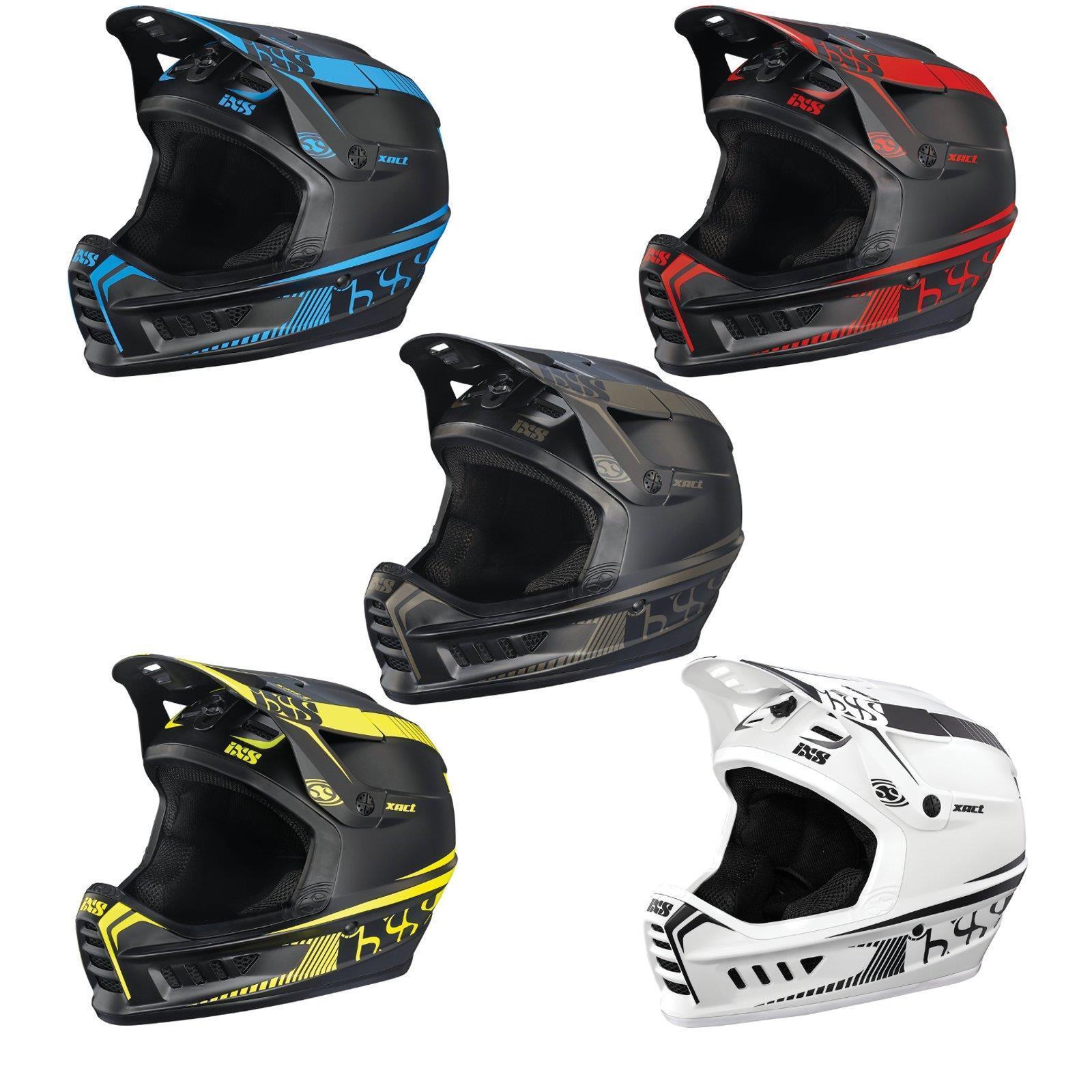 IXS Full Face casco Xact Downhill Mountain Bike DH MTB BMX ENDURO FR BICICLETTA EPR