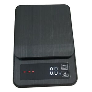 Precision Electronic Kitchen Scale Digital Food Coffee Weight Scales With Timer