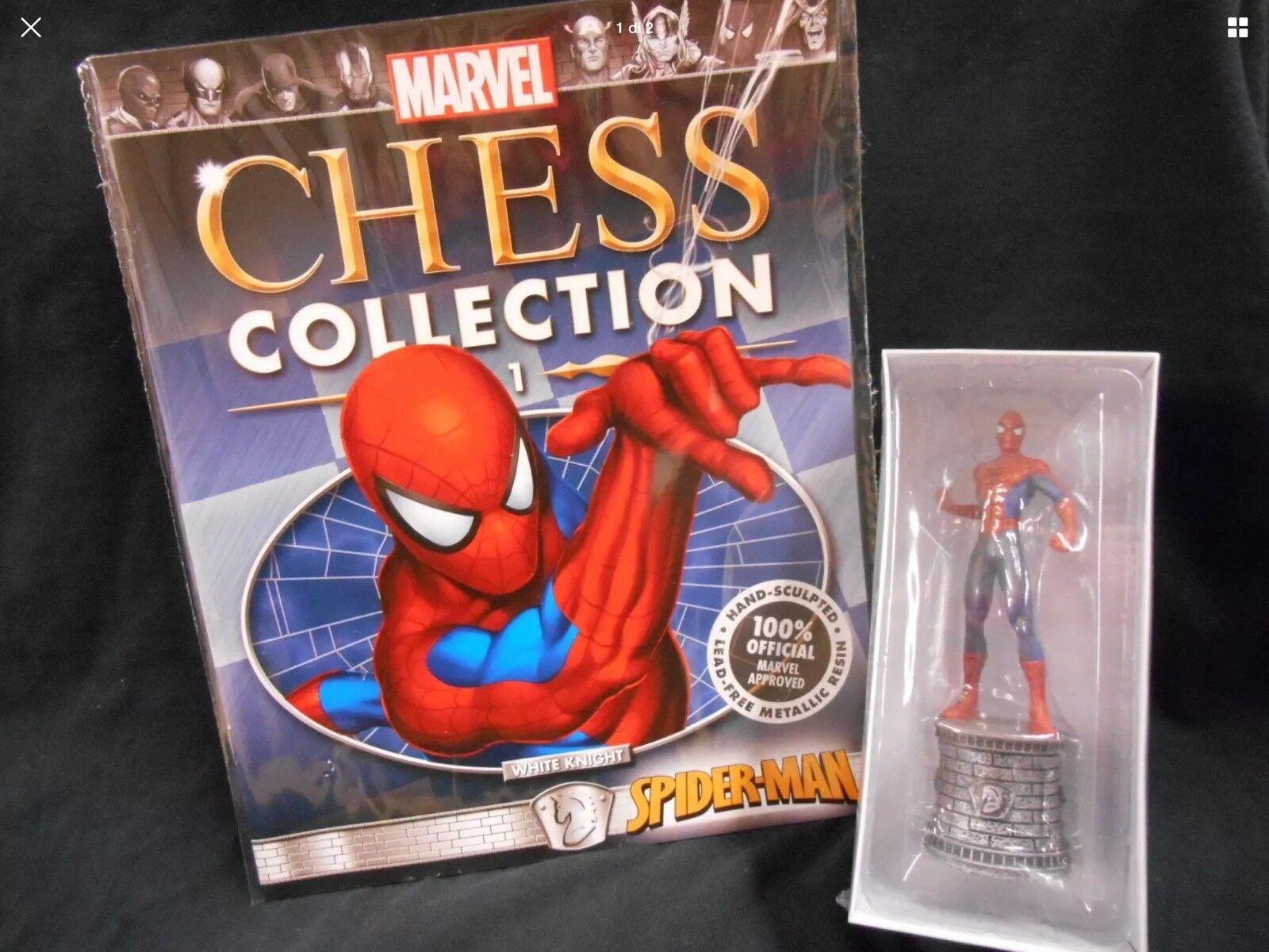 Marvel Chess Collection Eaglemoss 1 96  specialeeei 1 5 Subset Fantastici Quattro  miglior reputazione