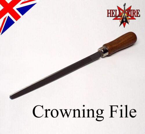 Fret Crowning File  Guitar  Hellfire  Custom Ground Triangular File