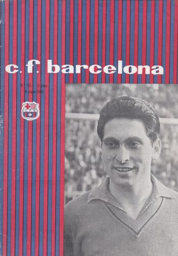 1960 FAIRS CUP FINAL BARCELONA v BIRMINGHAM CITY 2nd Leg