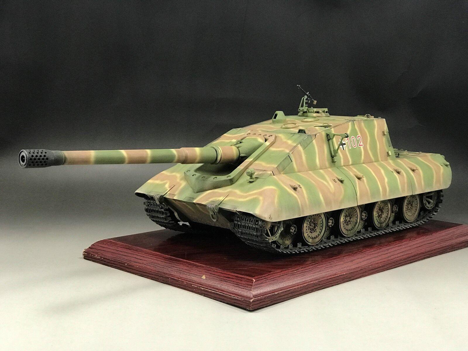 1 35 Built Trumpeter 01596 German Jagdpanzer E-100 Tank Destroyer Model