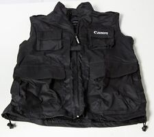 Canon Vest Size L/M fit 5D Mark III II 7D NEW Kit USA Jacket photography NEW USA