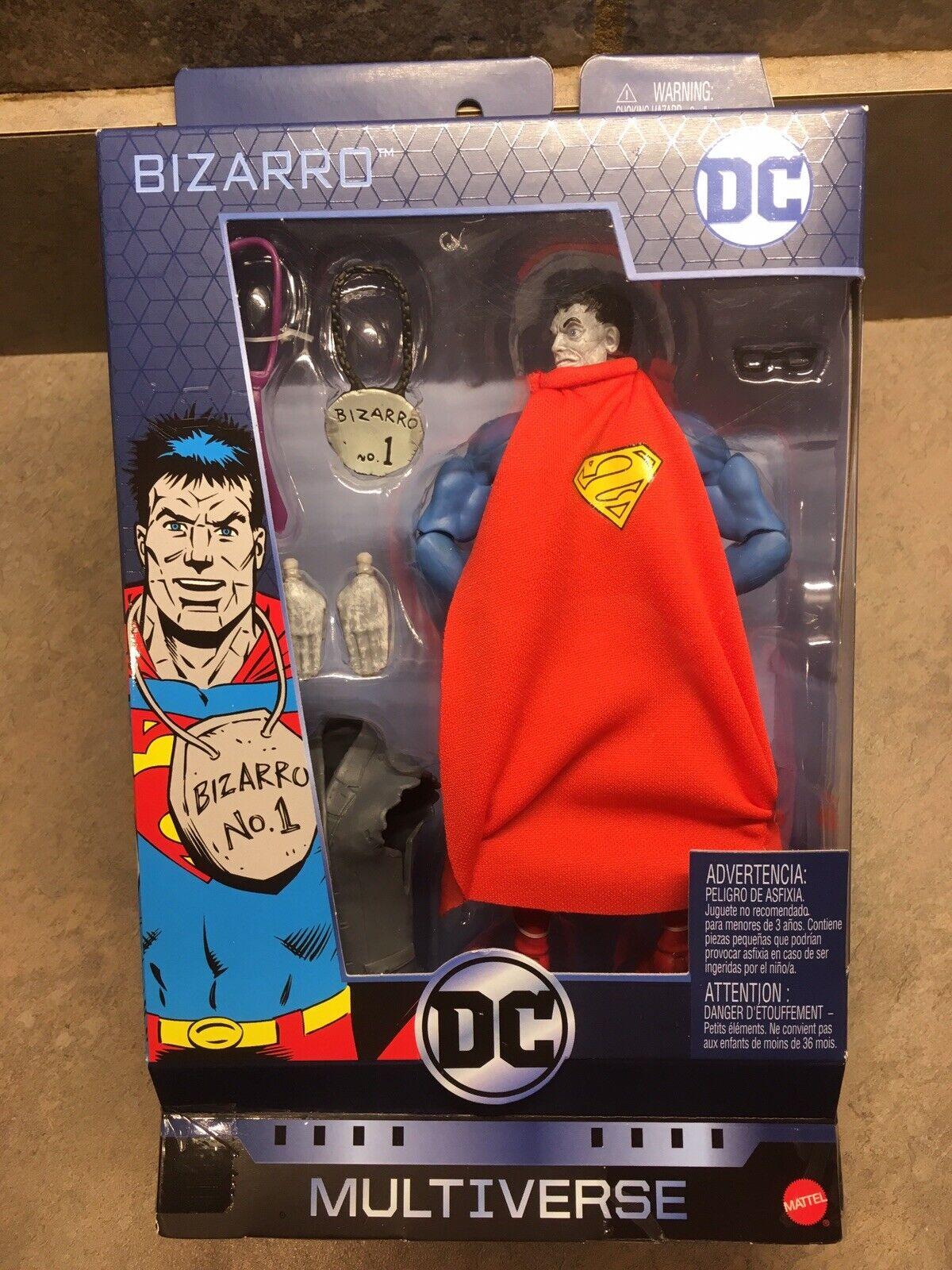 "DC Multiverse BIZARRO No. 1 Walgreens Exclusive 6"" Figure Superman Priority Ship"