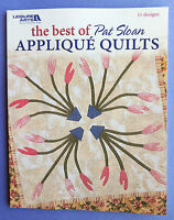 Leisure Arts the Best Of Pat Sloan Applique Quilts 11 Quilting Designs C2004