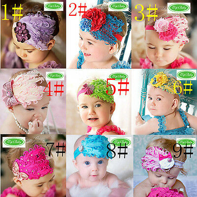 2017 fashion,Baby Headband Nagorie Feather Pad Ribbon ,variety of styles, colors