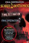 Final Destination/Final Destination 2 (DVD, 2006, 2-Disc Set, Scared to Death 2 Pack Back to Back)
