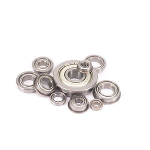 SMF-Miniature-Flange-Bearing-ABEC3-Stainless-Steel-Deep-Groove