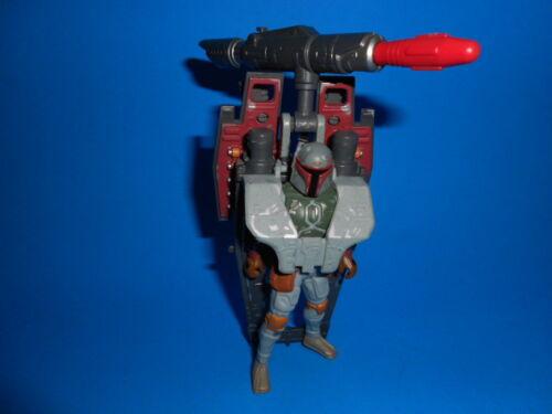 STAR WARS 1996 POTF Kenner Boba Fett Avec Aile-Blast ROCKET Pack ~ complet