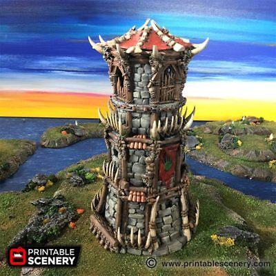 Tribal Fort 28mm Tabletop World Games D&D Terrain Wargaming RPG Dwarven  Forge | eBay
