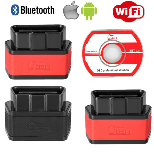Mini Bluetooth WIFI OBDII OBD2 Car Scanner Diagonositc Engine Fault Code Reader