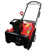 Warrior WR67436 Gas Powered Single Stage Snow Thrower 20