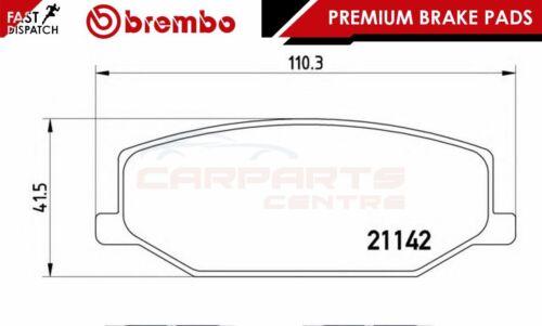 BREMBO GENUINE ORIGINAL PREMIUM BRAKE PADS PAD SET FRONT AXLE P79001