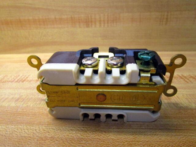 Hubbell HBL4750 Industrial Duplex Flush Receptacle Twist Lock Brown for sale online