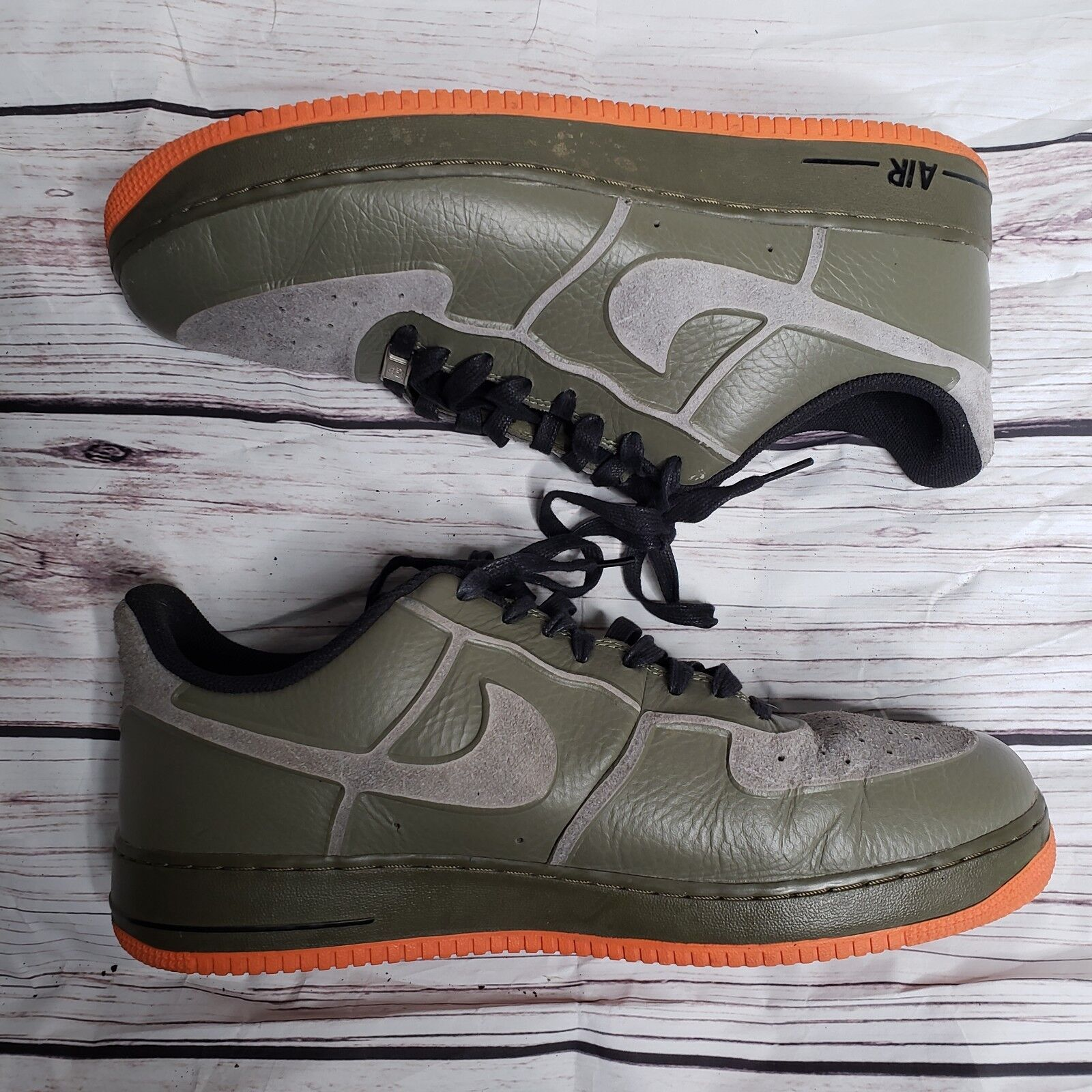 nike air force 1 faible prime skive  tce vt  skive  chaussures taille 14 moyen olive cc32d6