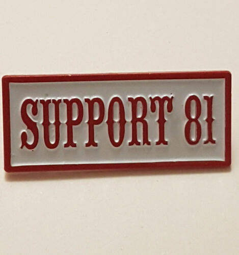 Kleidung, Helme & Schutz Metal Pin Badge Support 81 Worldwide ...
