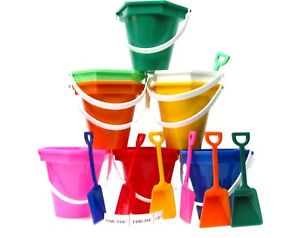 Image Is Loading 60 Small Sand Beach Buckets Shovels I Dig