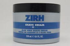 ZIRH Shave Cream Aloe Vera Shave Cream, 8.4 Ounce (BNWOB)