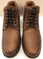 Johnston & Murphy Lance Tan Brown Plain Toe Boot Waterproof Men's 8.5 M 59-12352
