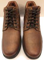Johnston & Murphy Lance Tan Brown Plain Toe Boot Waterproof Men's 8.5 M 59-12352