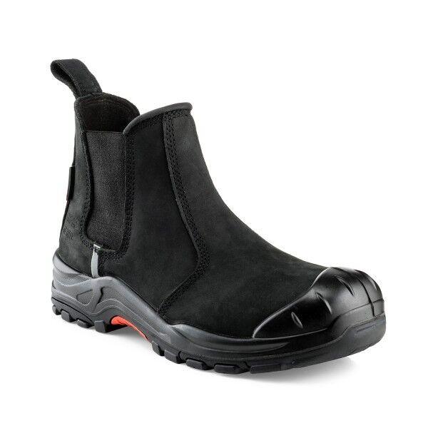 Buckler NKZ101BK Nubuckz Non-metallic Dealer Boots Black (Sizes 6-13)