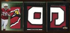 2009 TRIPLE THREADS CHRIS WELLS 1/1 RC BOOKLET JUMBO PATCH SICK PATCH  CASE HIT