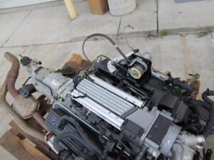lt1 chevy v8 5 7l engine motor w manual 5 speed transmission and rh ebay com Chevy V8 Engine Chevy 5 7 TBI