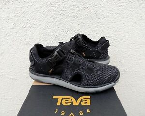 692cfd4ec440 Image is loading TEVA-BLACK-TERRA-FLOAT-TRAVEL-KNIT-LACE-SHOES-