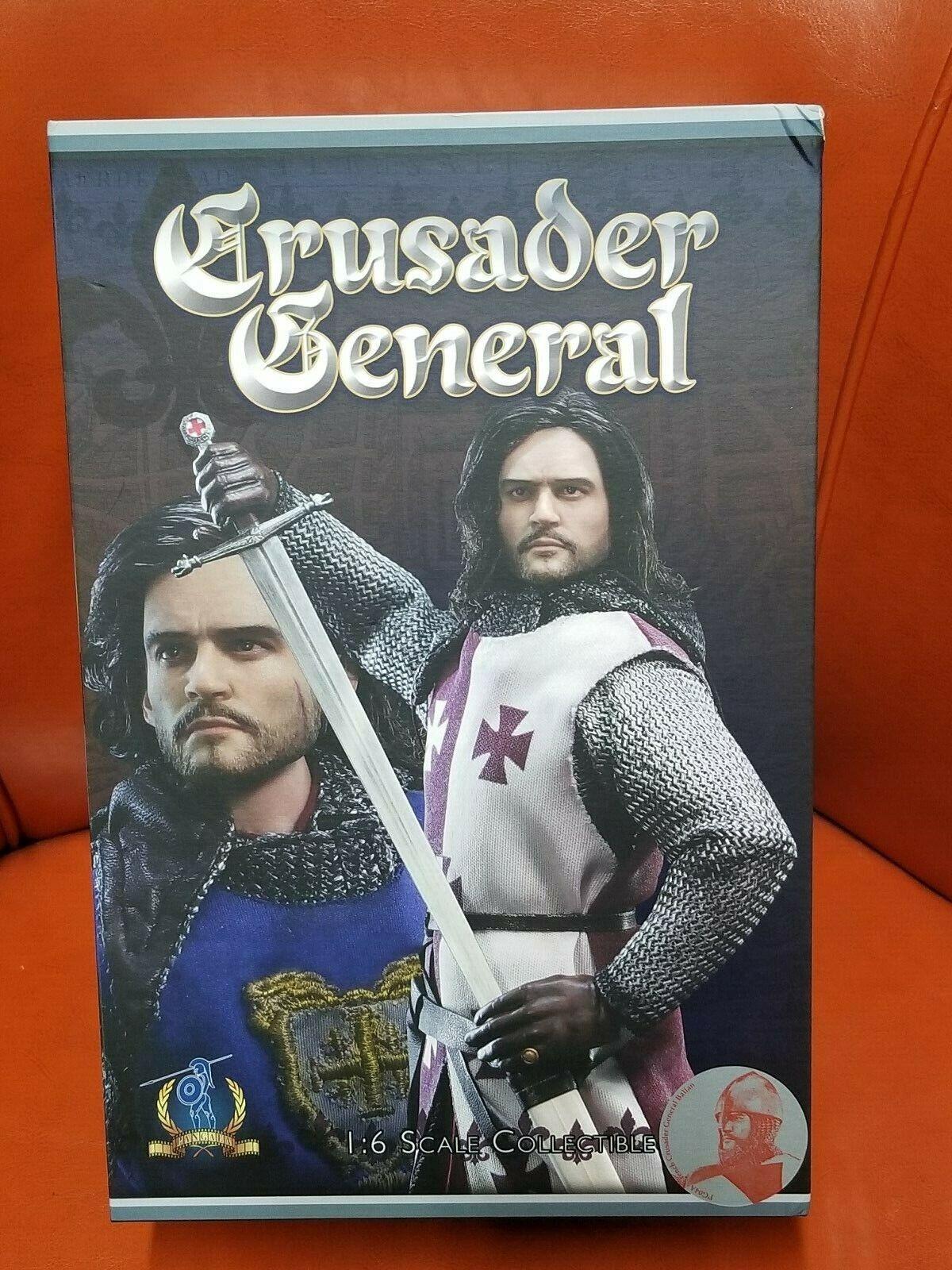 Pangaea ACI TOY 1 6 Balian français Crusader général rouge Version