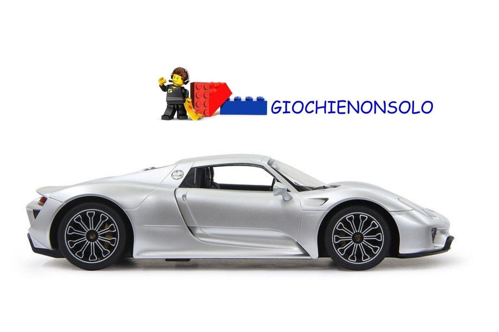 JAMARA 404578 - Porsche 918 Spyder 1 1 1 14 silver 27 MHz a09820