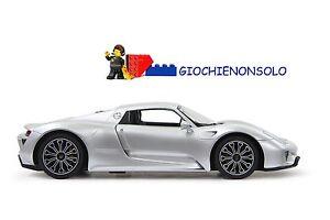 Jamara 404578 - Porsche 918 Spyder 1:14 Argent 27 Mhz