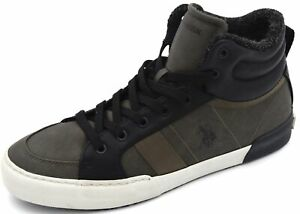 U-S-POLO-MAN-SNEAKER-SHOES-SPORTS-CASUAL-TRAINERS-FREE-TIME-FAUX-LEATHER-ROYCE