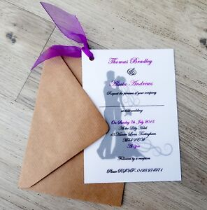Personalised-Bride-and-Groom-Vellum-Wedding-Invitations-with-Envelopes-amp-ribbon