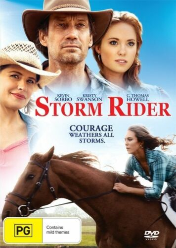 1 of 1 - Storm Rider * NEW DVD * Kristy Swanson C Thomas Howell horse family movie