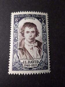 FRANCE-1950-timbre-868-J-L-DAVID-CELEBRITY-neuf-VF-MNH-STAMP