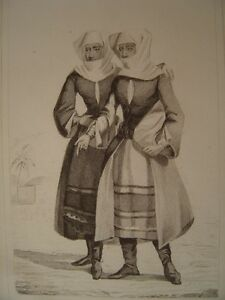 Armenia-Women-Armenian-of-Montagnes-in-1838-Engraving-on-Steel