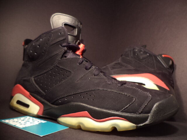 2009 Nike Air Jordan VI 6 Retro BLACK VARSITY FIRE RED BRED WHITE 384664-061 12