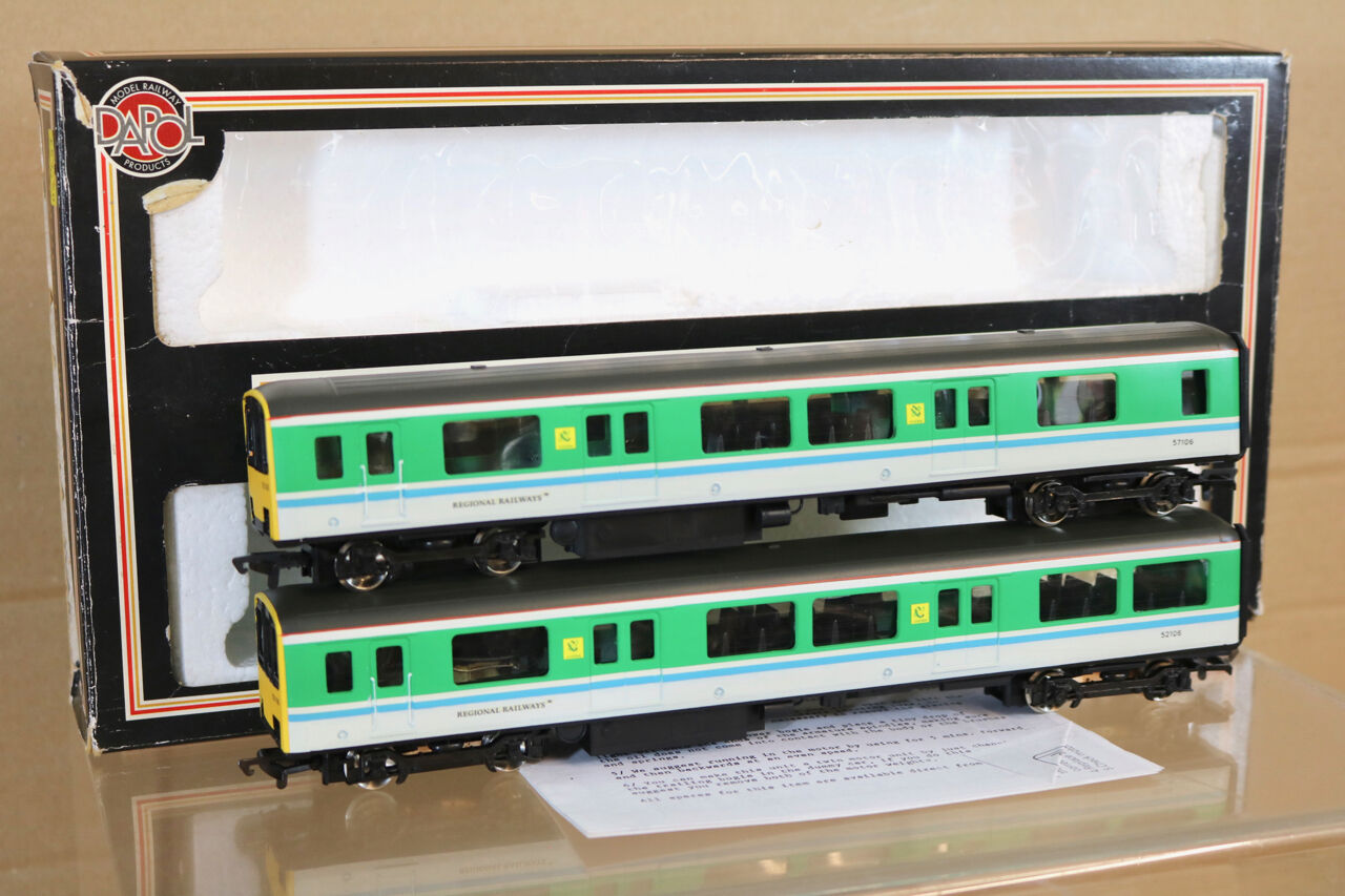 DAPOL REfinito BR REGIONAL RAILWAYS CENTRO classe 150 DMU 2 auto SET 150106 nj