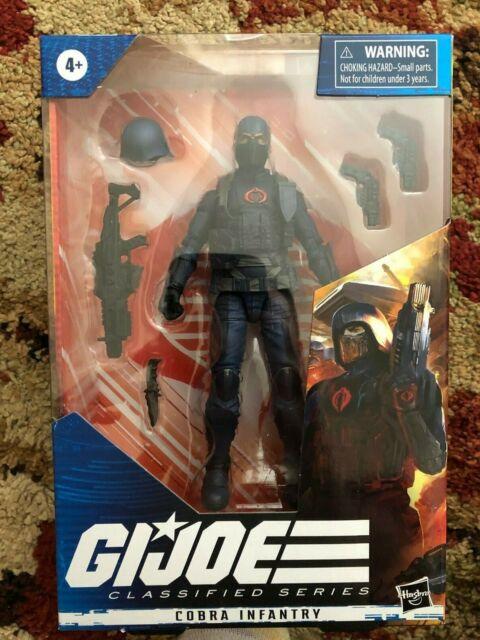 "GI Joe Classified Cobra Infantry Trooper Wave 3 In Hand Hasbro 6"""