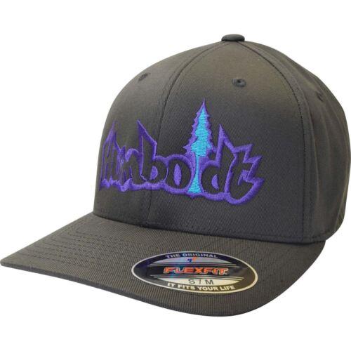 Curved Bill Treelogo Outline Flexfit Hat Humboldt Clothing Co Stretch Hat Tree