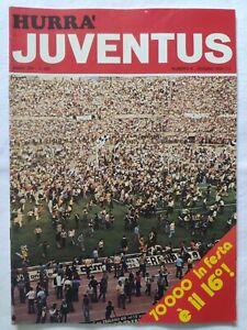 HURRA-039-JUVENTUS-N-6-GIUGNO-1975-VITTORIA-16-SCUDETTO-CLUB-CERANO-CRESCENTINO