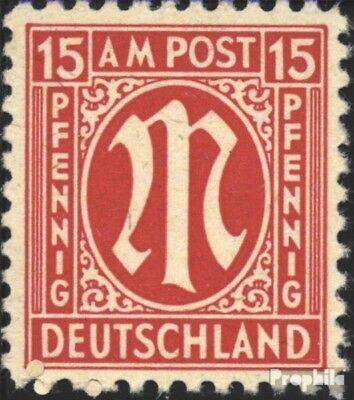 Aufrichtig Bizone (alliierte Besetzung) 8z Gestempelt 1945 Am-post