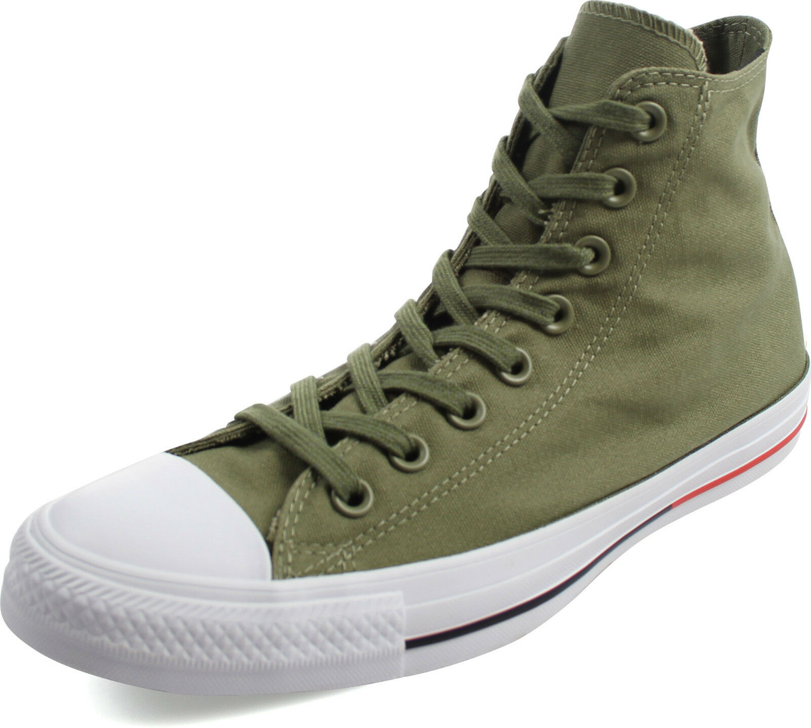CONVERSE SHIELD HI ALL STAR CHUCK TAYLOR MEN SHOES FATIGUE GREEN 153795F SIZE 10