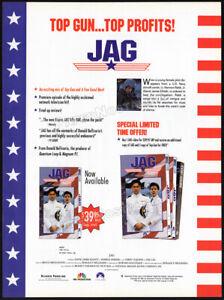 JAG-Original-1996-Trade-AD-TV-series-promo-DAVID-JAMES-ELLIOTT-ANDREA-PARKER