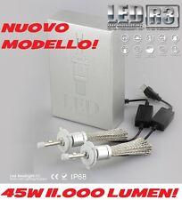 H1 R3 + PLUS Kit FULL LED CREE 11000 LM 45W XENO BIANCO 6000 NOVITA' NUOVO