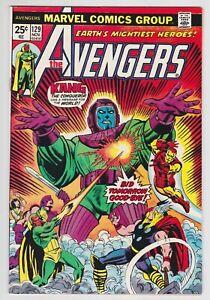Avengers-129-VF-NM-9-0-Iron-Man-Thor-Vision-Kang-The-Conqueror
